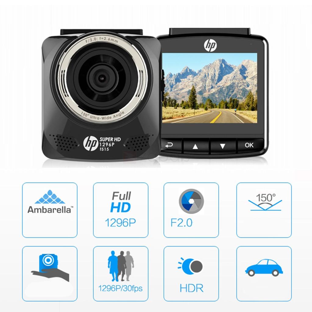 camera-hanh-trinh-hp-f515-1296p-ambarella-a7